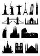 Silhouettes landmark