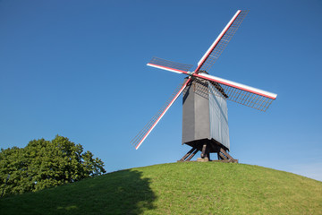 Brges - Wind-mill Sint Janshuismolen