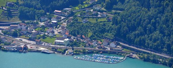 région d'amden...suisse