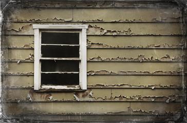Cracked Paint Window