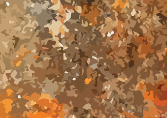 Camouflage pattern design.  illustration