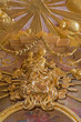 Vienna - Polychrome baroque Madonna statue