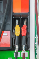 Self service FUEL Pump in oil station