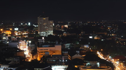 Night Time Lapse in Chiang Mai