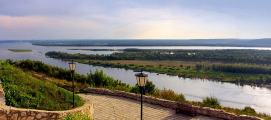 River Volga in Russia, Samara