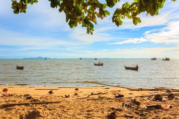 dirty beaches in thai