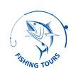 vector fishing tours, - 67563440