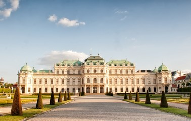 Upper Belvedere Palace in Vienna