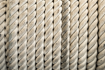 Rope background and texture