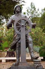 Monaco - Statue of Prince Albert 1st