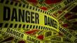 PoliceTape Danger Red