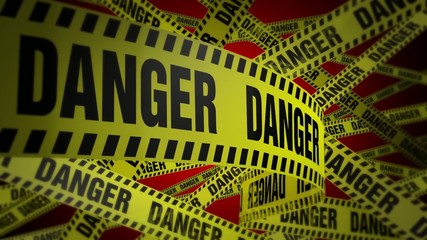 PoliceTape Danger Red