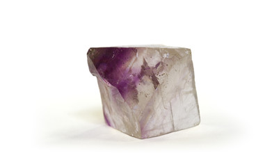 Octahedral Fluorite crystal from Illinois, USA. 4cm across.