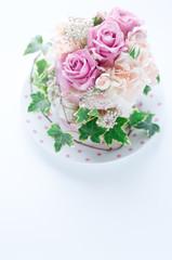 バラのケーキ バラ ケーキ フラワーケーキ