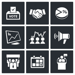 Election Icons collection