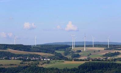 Windräder im Hunsrück_2