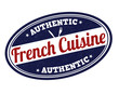 French cuisine stamp