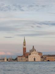Venedig, historische Altstadt, Insel, Abendstimmung, Italien