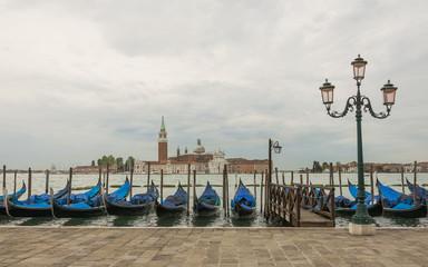 Venedig, Altstadt, Kanal, Gondel, Insel, Sommer, Italien