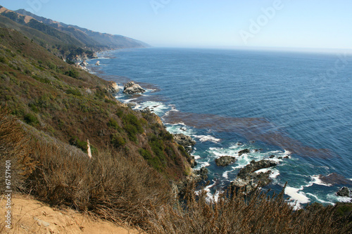 canvas print picture Kueste Pacific Coast