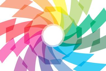 背景素材壁紙 (虹色,レインボー,カラフル,七色,PR,コマーシャル,広告,宣伝,チラシ,販促,販売,文字入)