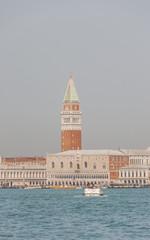 Venedig, historische Altstadt, Canale, Markusturm, Italien