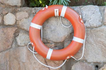 Round buoy lifesaver