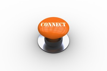 Connect on orange push button