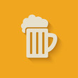beer mug design element - 67576080