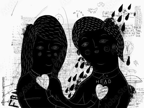Женщина и мужчина © moypapaboris