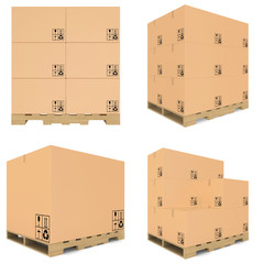 set carboard box