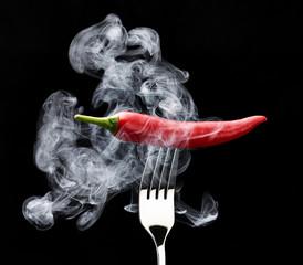 sehr scharfe chili