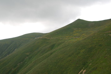 The Osogovo Mountains