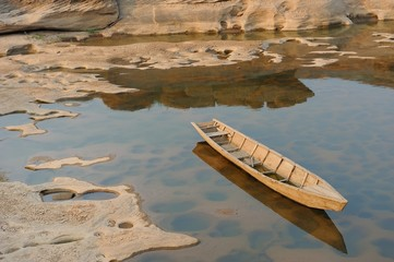 Boat in Sam Pan Bok