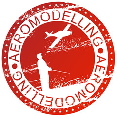 Sports stamp - Aeromodelling