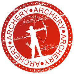 Sports stamp - Archery