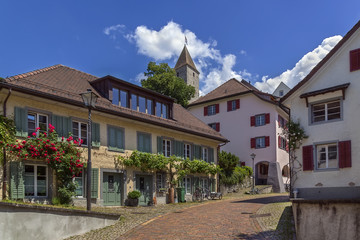 street in Rapperswil, Switzerland