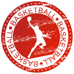 Sports stamp - Basketball