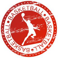 Sports stamp - Basketball