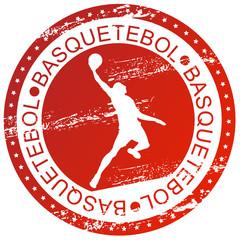 Carimbo desportivo - Basquetebol