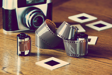 retro photography film