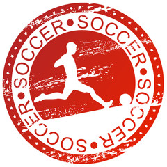 Sports stamp - Soccer