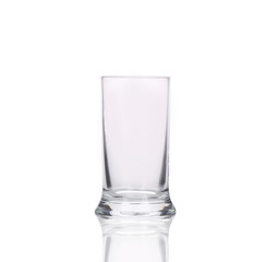 Tall water glass.