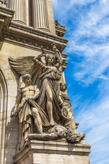 Statue in Paris Opera House France