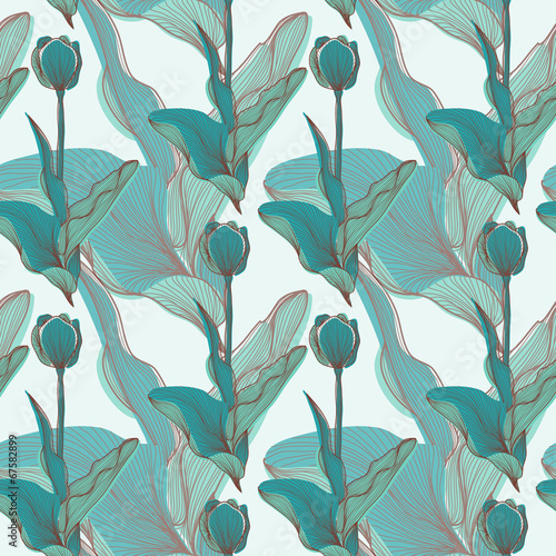 seamless pattern © Chantal