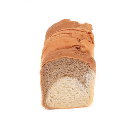 White brown bread.