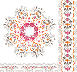 ornamental fabric design