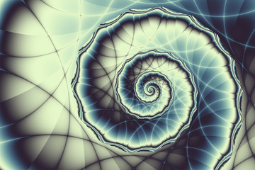 Swirled background pattern - infinity