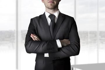 businessman crossed arms