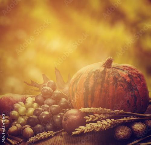 In de dag Situatie Autumn Concept